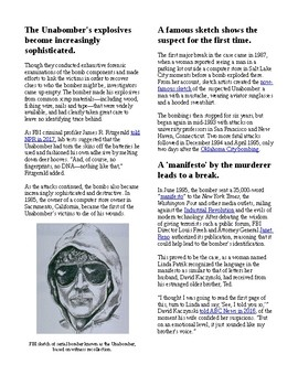 """Info Read Text- Crime and Psychology: Why it took 17 years to find """"Unabomber"""""""