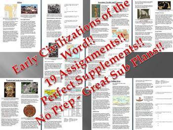 Info Reading Text-Early Civilizations Around the World Bun