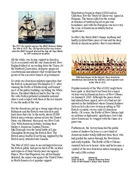 Info Reading Text - Expansion and War of 1812: Victory from Defeat (no prep)