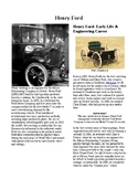 Info Reading Text - Inventors: Henry Ford (no prep/sub plan)