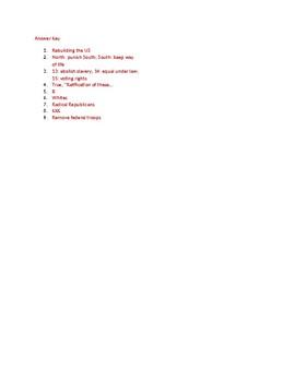 Info Reading Text - Reconstruction: (no prep/sub)