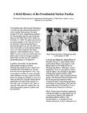Info Reading Text - Thanksgiving: the Presidential turkey pardon