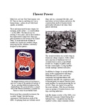 Info Reading Text - The 60's Culture: Counterculture, Hippies and Flower Power