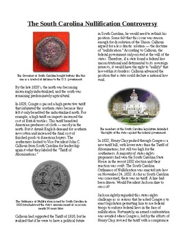Info Reading Text - The Age of Jackson: South Carolina Nul