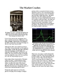 Info Reading Text - The Great Depression: The Market Crashes (no prep/sub plan)