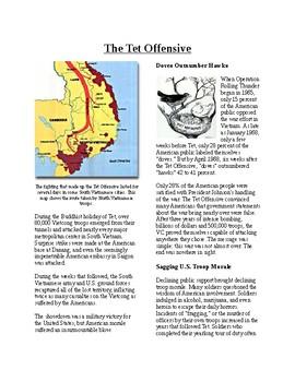 Info Reading Text - The Vietnam War: The Tet Offensive