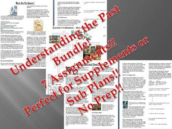 Info Reading Text - How Do We Know?: Understanding the Past Bundle (no prep)