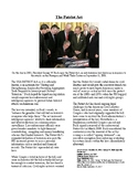 Info Reading Text/Vocab - September 11: The USA Patriot Act (no prep/sub plans)
