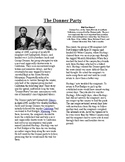 Info Reading Text - Westward Expansion: The Donner Party (no prep/sub plan)