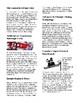 Info Reading Text - Winter Olympics Technology (no prep/sub plans)