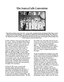 Info Reading Text - Women's History Month: Seneca Falls Convention (no prep)