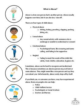 Info Sheet - Help me understand Abuse