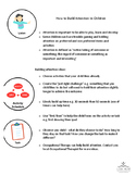 Info Sheet - How to build attention