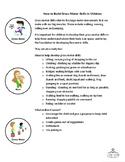 Info Sheet - How to build gross motor skills