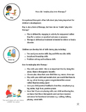 Info Sheet - How to make play therapeutic