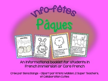 {Info-fêtes: Paques!} A French non-fiction booklet about Easter