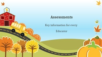 Info on Assessments