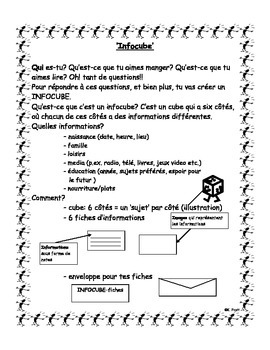 French Immersion: Infocube