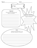 Infographic Graphic Organizer - Animal Report - Readygen Grade 4