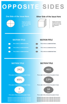Infographic Project: Opposite Sides of an Issue