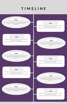 Timeline Infographic Project