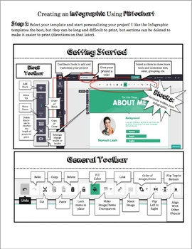 Infographic Student Reference Guide with Piktochart