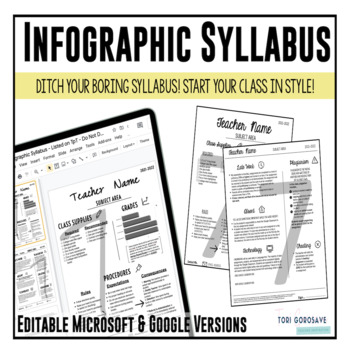 Infographic Syllabus 2.0 by Tori Gorosave - A Middle School ...