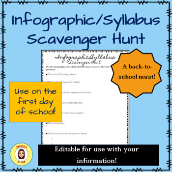 Infographic or Syllabus Scavenger Hunt