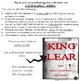 Infographics: KING LEAR (INTERACTIVE OR PRINT)