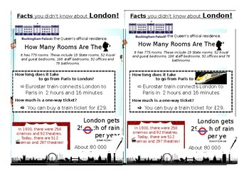 Infography about London