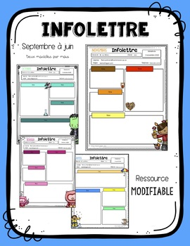 Infolettre - MODIFIABLE / Newsletter FRENCH