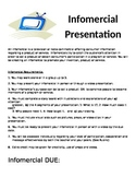Infomercial Presentation Requirements