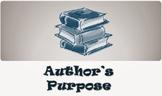 Inform, Persuade, Entertain Worksheet