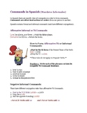 Informal Commands Worksheet (Spanish)