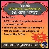 Informal Commands in Spanish (Negative & Affirmative) - Gu