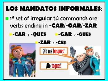Informal Commands (tu and vosotros)