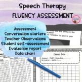 Fluency Assessment   Informal   Stuttering   Data Collection  Evaluation Report