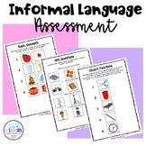 Informal Language Assessment