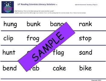 Informal Literacy Assessment