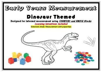 measuring dinosaurs worksheets teaching resources tpt rh teacherspayteachers com