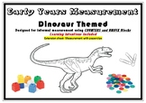 Informal Measurement- Dinosaur Themed