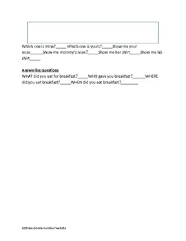 Informal Play-based Assessment Instrument