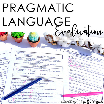 Informal Pragmatic Assessment