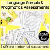Informal Assessment Toolkit for Pragmatics & Language Samples
