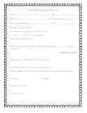 Informal Reading Conference Form