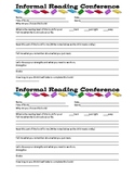 Informal Reading Conference Form