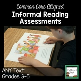 Standards Based Reading Assessments for Progress Monitoring Grades 3-5