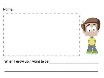 Informal Writing Assessment-ESL Boy