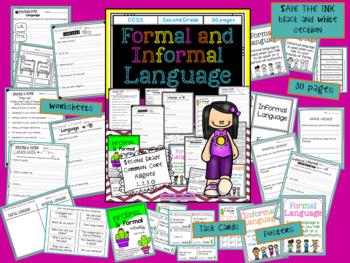 Informal and Formal Language