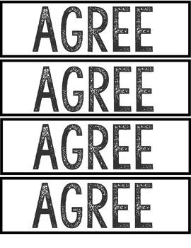 Informal assessment posters